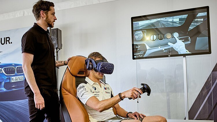 BMW and VR