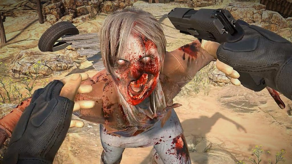 Arizona Sunshine is one of the best VR shooting games in the market