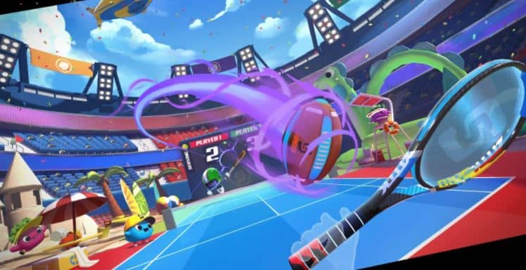 Sports Scramble, a free demo on the Oculus Quest