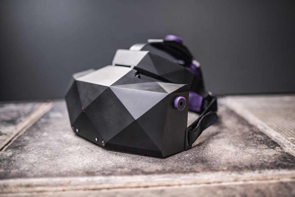The XTAL headset., revealed at CES 2020.