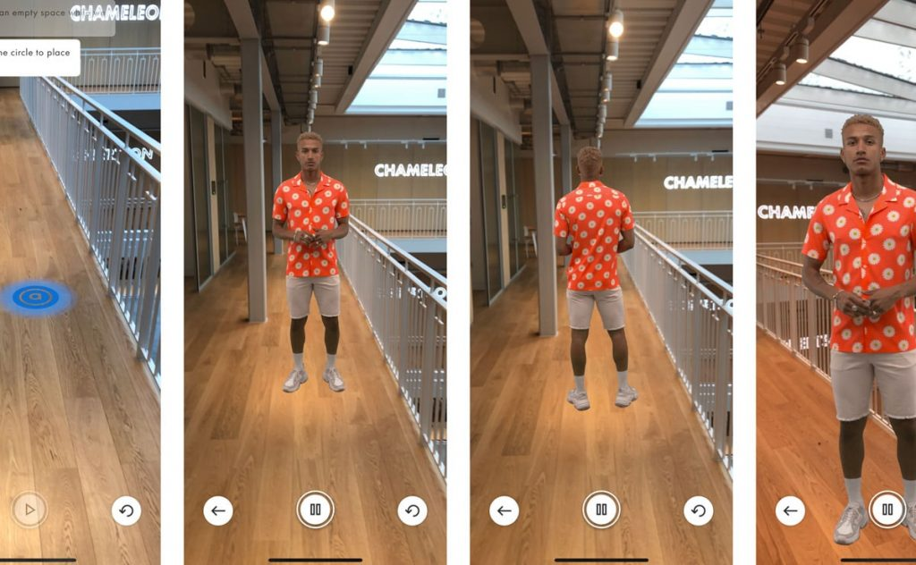 ASOS is pioneering the future of augmented reality in retail. Photo credit: ASOS.