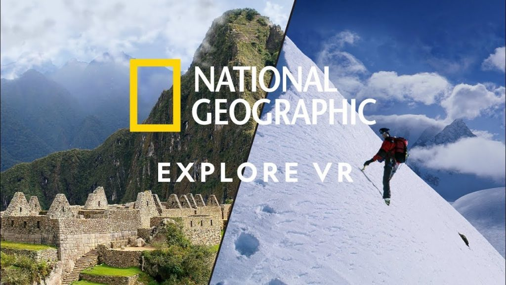 National Geographic Explore VR is one of the best educational VR apps. Photo credit: Force Field Entertainment B.V.