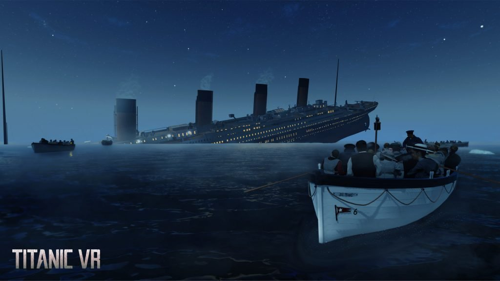 See the sinking of the Titanic in VR. Photo credit: Immersive VR Education.
