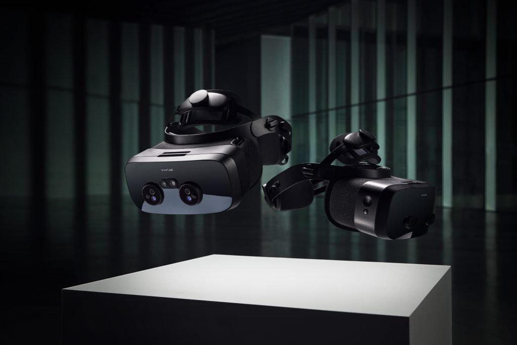 The Varjo VR-3 and XR-3 will release next year, as the most exciting enterprise VR headsets of 2021. Photo credit: Varjo.